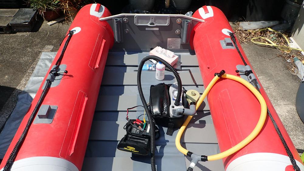 2馬力ボート釣り準備、おおむね完了です。 2019年4月4日(木)_d0171823_21400511.jpg