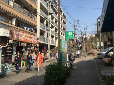 まえ散歩 at 谷中 桜五分咲きの谷中を、西日暮里から千駄木まで歩いてみる_b0177242_11234847.jpg