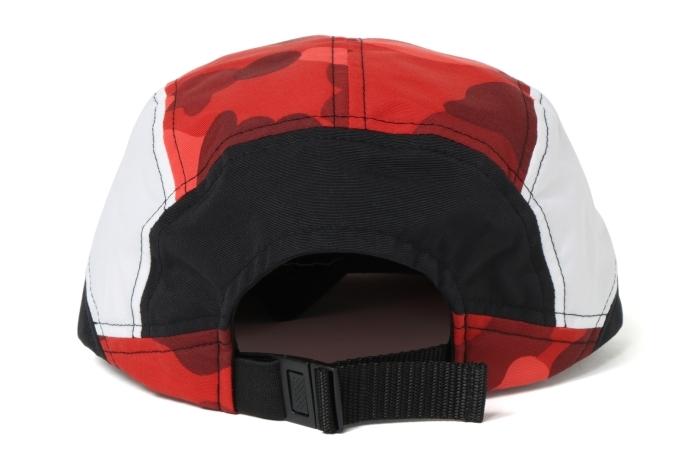COLOR CAMO COLOR BLOCK RUNNING CAP_a0174495_17223465.jpg