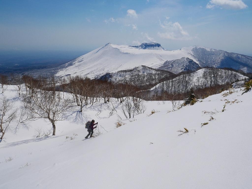 風不死岳、2019.4.4ー速報版ー_f0138096_18525613.jpg