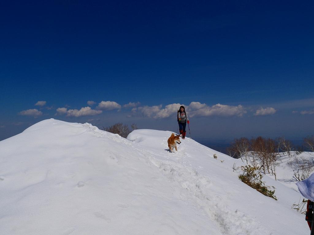 風不死岳、2019.4.4ー速報版ー_f0138096_18530332.jpg