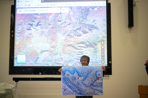 HIBINO HOSPITAL Vol.73 「一分の一の日本地図は世界のどこかの場所に似ている。」at 電波宇宙館(高萩市/2019.1月20日 )_a0216706_22163452.jpg
