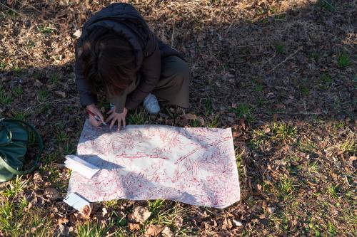 HIBINO HOSPITAL Vol.73 「一分の一の日本地図は世界のどこかの場所に似ている。」at 電波宇宙館(高萩市/2019.1月20日 )_a0216706_22173880.jpg