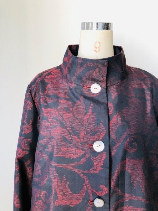 着物リメイク・大島のお着物からコート_d0127925_14304418.jpg