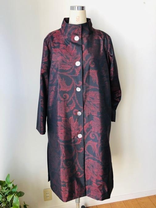着物リメイク・大島のお着物からコート_d0127925_14304835.jpg