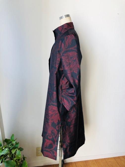 着物リメイク・大島のお着物からコート_d0127925_14305573.jpg