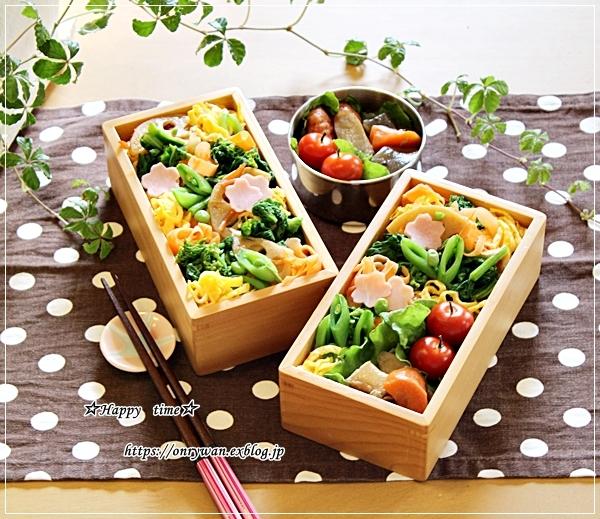 菜の花散らし寿司弁当とシングルオリジンチョコ♪_f0348032_17512245.jpg
