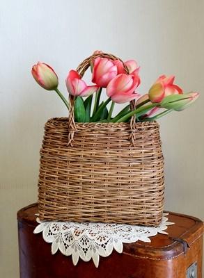 春ですね♪スプリングコートとチューリップ_b0194861_19011610.jpg