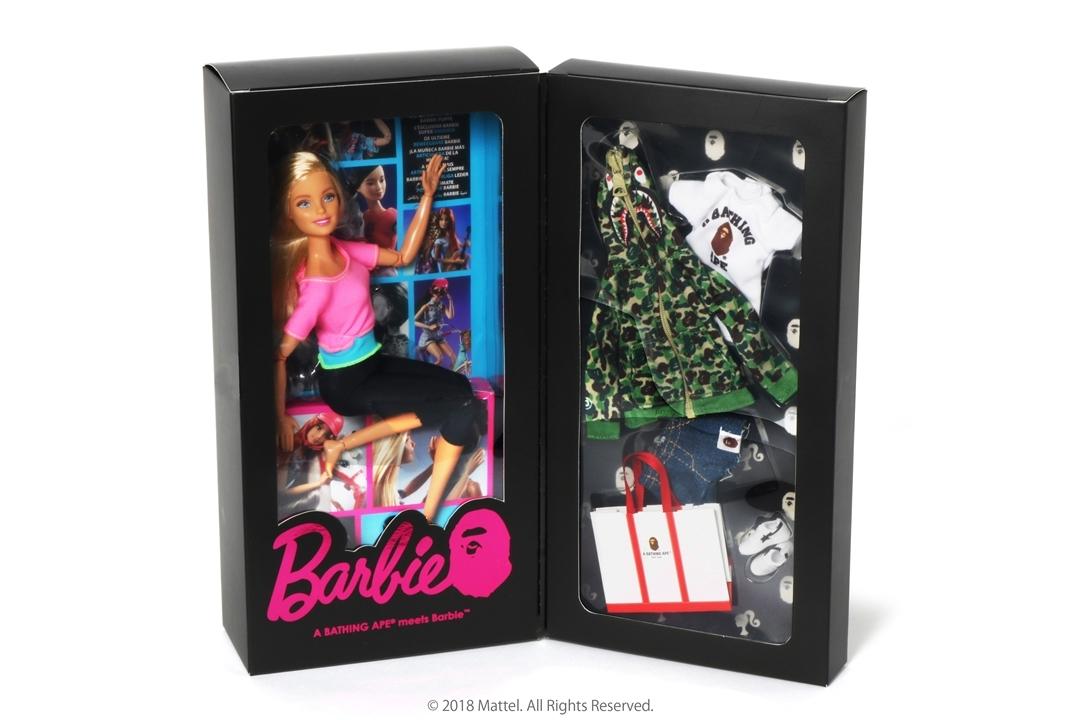 BAPE® x BARBIE_a0174495_16010505.jpg