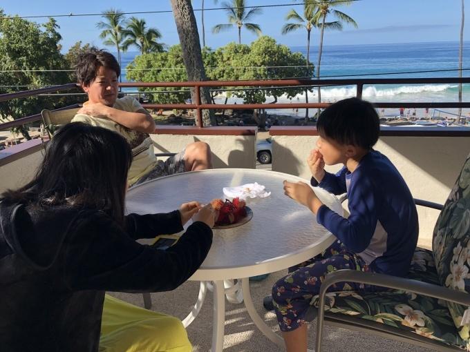 2019お正月ハワイ島へ!~コナホワイトサンドコンドミニアム~_f0011498_17350033.jpg