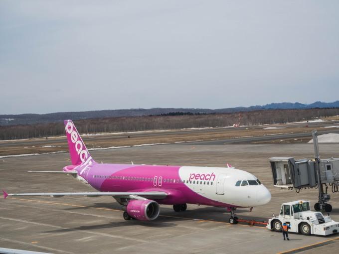 「釧路空港からピーチで関西に行く」という仮定で・・_f0276498_23403339.jpg