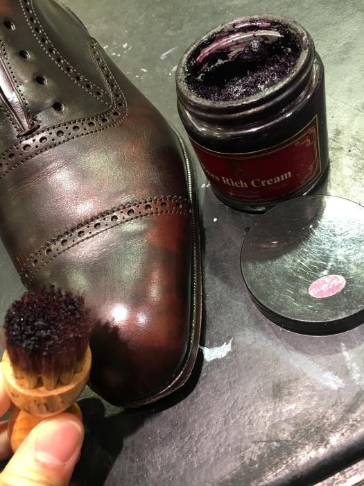 そうだ靴を磨こう_b0226322_09595492.jpg