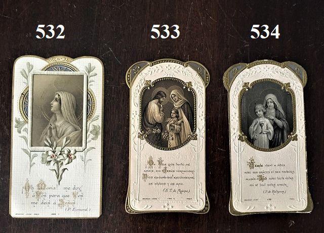 ホーリーカード(聖人のカード、エスタンパ)_f0112550_05270545.jpg