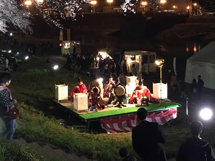 足羽川ぼんぼり物語 雅楽奉仕_f0136366_13101662.jpg