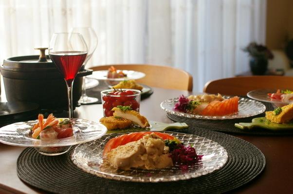 今日の夕食:しっとり茹で鶏_d0327373_18220650.jpg