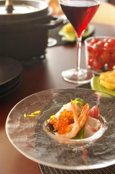 今日の夕食:しっとり茹で鶏_d0327373_18221953.jpg