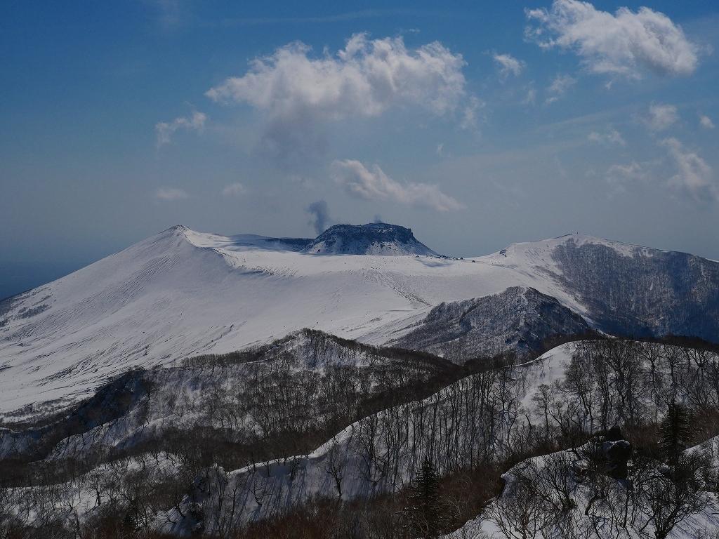 風不死岳、2019.4.4_f0138096_21432344.jpg