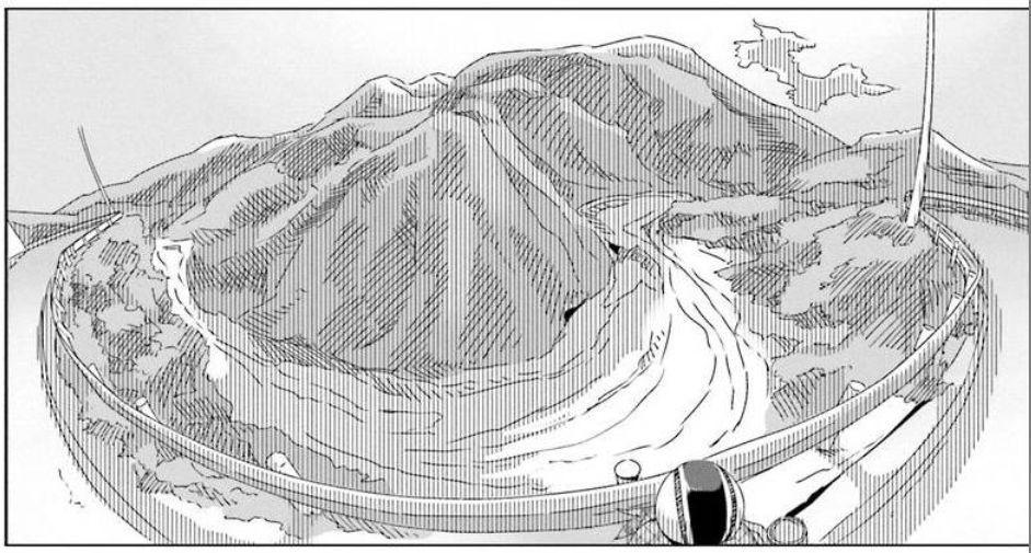 コミック「ゆるキャン△」舞台探訪004 志摩リン 早川町の静かの湖、雨畑へ 第7巻第38話_e0304702_06254974.jpg