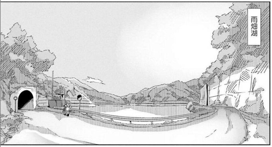 コミック「ゆるキャン△」舞台探訪004 志摩リン 早川町の静かの湖、雨畑へ 第7巻第38話_e0304702_06384603.jpg