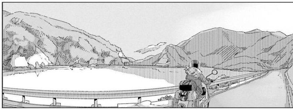 コミック「ゆるキャン△」舞台探訪004 志摩リン 早川町の静かの湖、雨畑へ 第7巻第38話_e0304702_06400853.jpg
