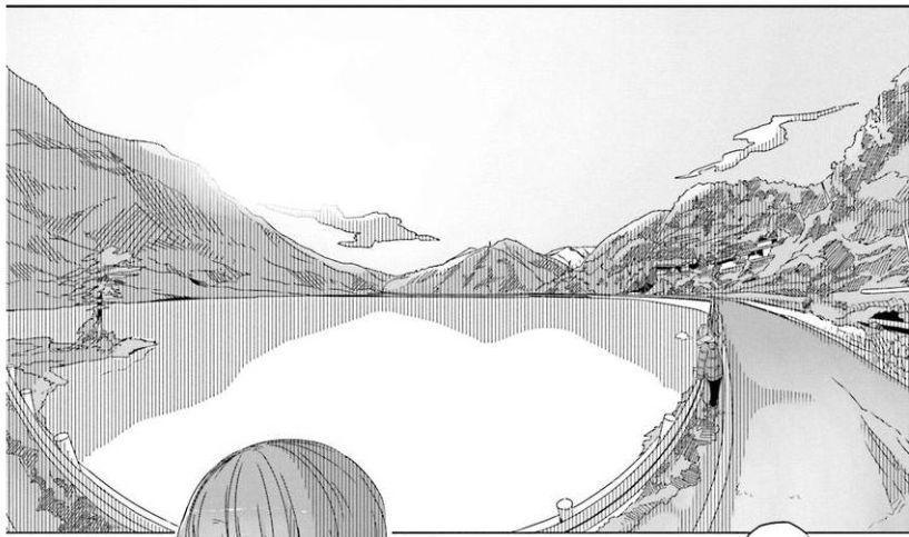 コミック「ゆるキャン△」舞台探訪004 志摩リン 早川町の静かの湖、雨畑へ 第7巻第38話_e0304702_07000691.jpg