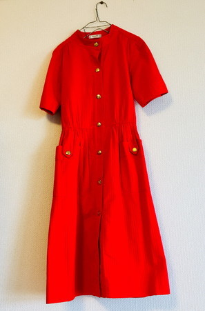 Celine onepiece Red_f0144612_10414751.jpg