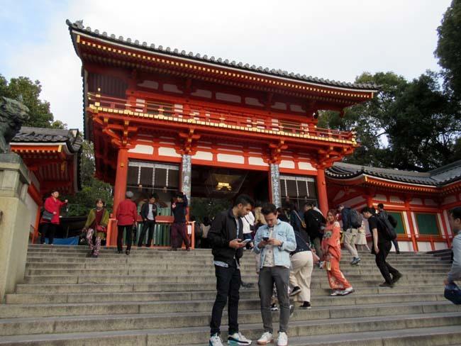 夜桜満喫 円山公園_e0048413_22322698.jpg