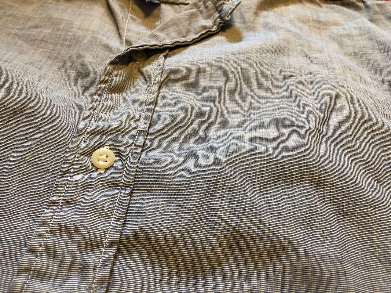 4月7日(日)入荷!60s  British Army Officer Shirts マチ付き ハケメ all cotton  ユーロビンテージシャツ! _c0144020_13213108.jpg