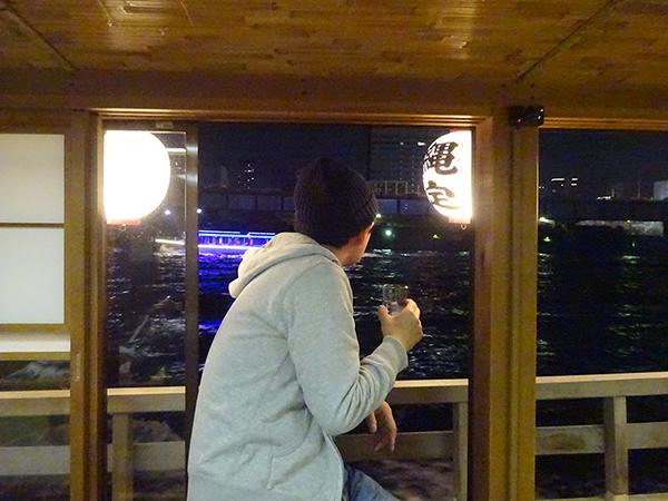 屋形船に乗って、夜桜隅田川クルーズ(前編)_f0097523_21544268.jpg