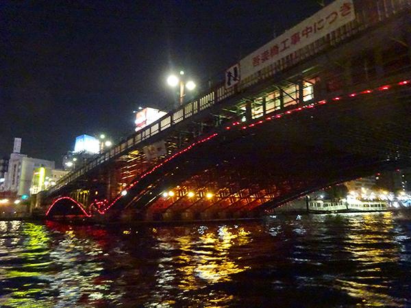 屋形船に乗って、夜桜隅田川クルーズ(前編)_f0097523_21544544.jpg