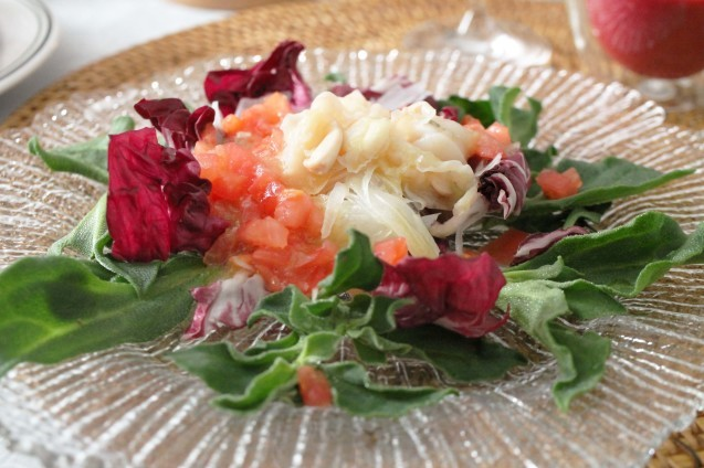 ローストビーフと赤いお野菜_d0377645_23282833.jpg