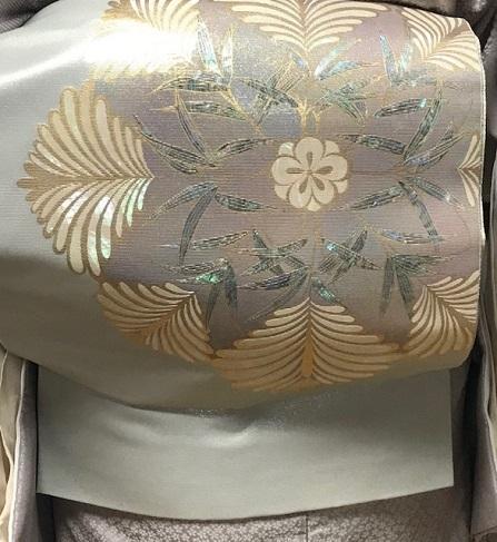 春爛漫の休日・桜色の御召で染織光悦会・京都の染織へ。_f0181251_18340846.jpg