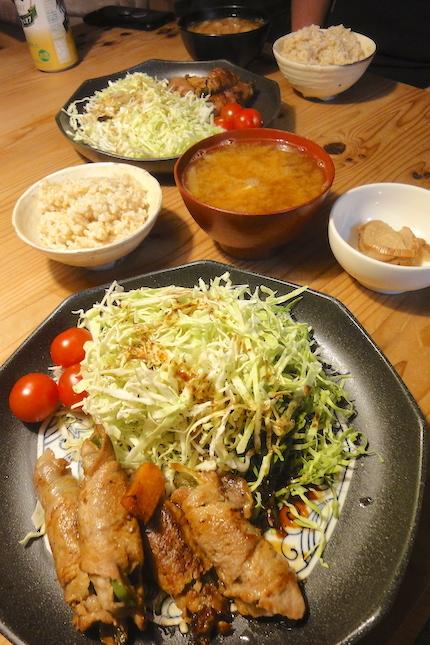 野菜の肉巻きソテー_f0054859_19235516.jpg