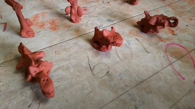 陶芸教室と苺のアップリケ♪_f0374160_21121021.jpg