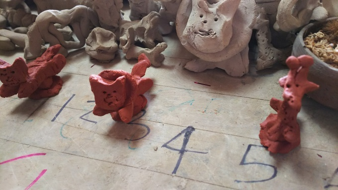 陶芸教室と苺のアップリケ♪_f0374160_21125006.jpg