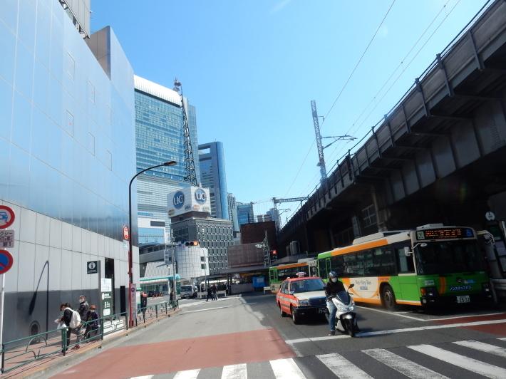 '19,4,7(日)カレッタ汐留と46階からの景色!_f0060461_09002377.jpg