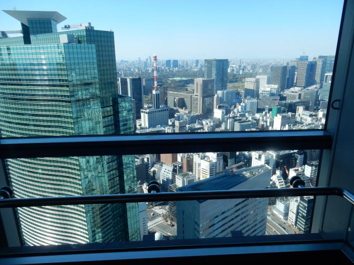 '19,4,7(日)カレッタ汐留と46階からの景色!_f0060461_09143236.jpg