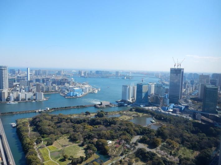 '19,4,7(日)カレッタ汐留と46階からの景色!_f0060461_09175996.jpg