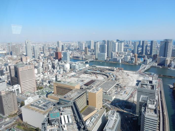 '19,4,7(日)カレッタ汐留と46階からの景色!_f0060461_09203315.jpg