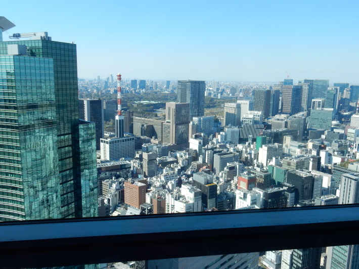 '19,4,7(日)カレッタ汐留と46階からの景色!_f0060461_09350187.jpg