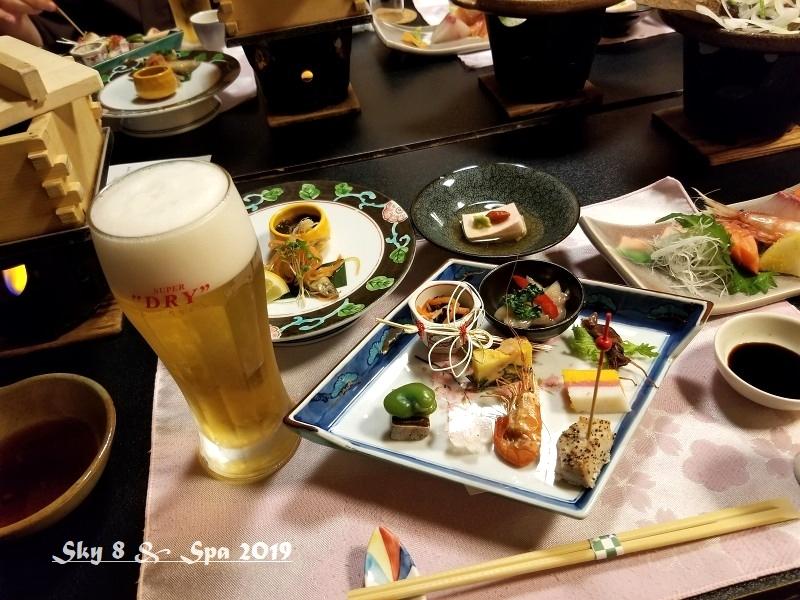 ◆ 車旅で広島へ、その8「湯原温泉 湯の蔵 つるや」へ 夕食編(2019年3月)_d0316868_09091204.jpg