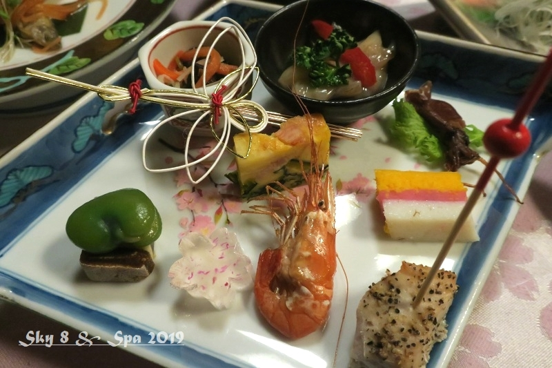◆ 車旅で広島へ、その8「湯原温泉 湯の蔵 つるや」へ 夕食編(2019年3月)_d0316868_09323027.jpg