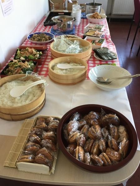 チャリティーランチ日本食の会_d0217479_23583951.jpg