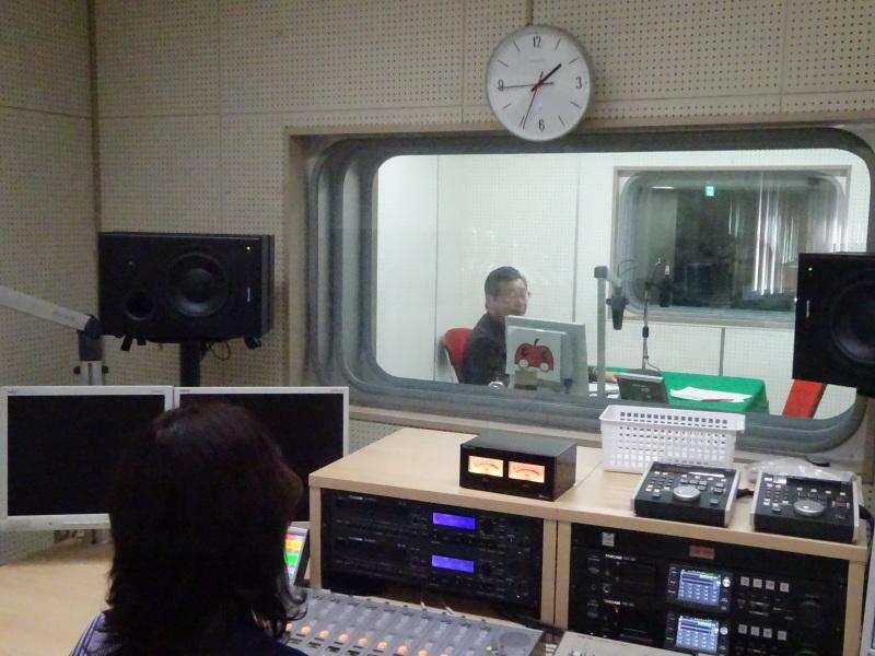 シニアライターお二人がラジオ番組収録に参加しました!_d0366509_15154612.jpg