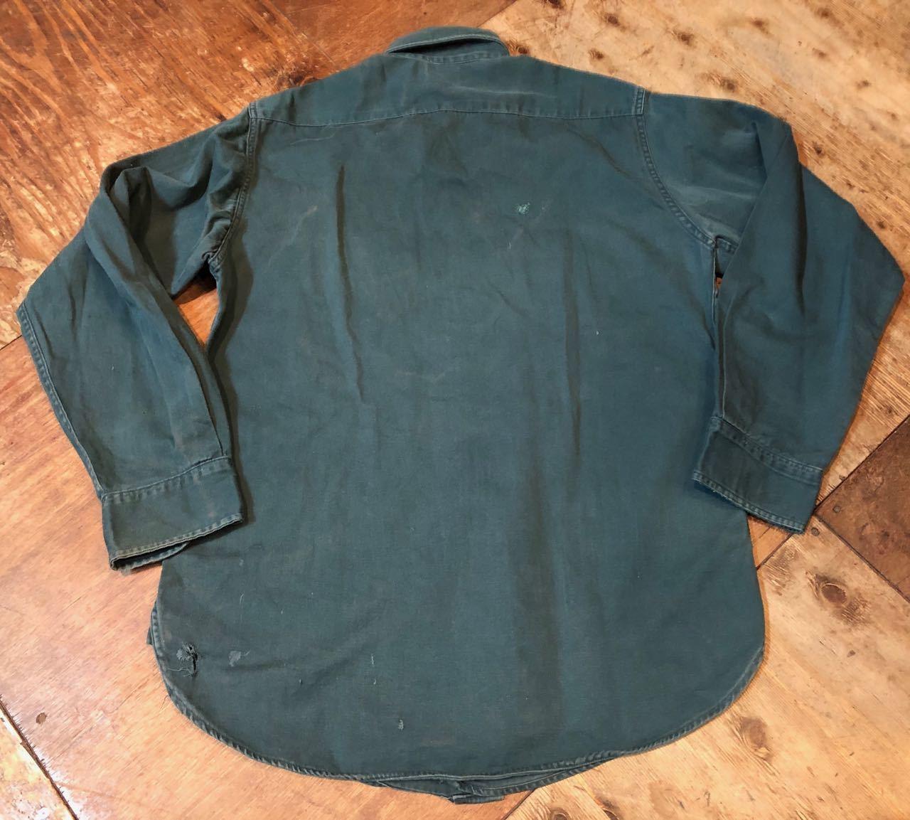 4月8日(月)入荷! 60s BIGMAC マチ付き ワークシャツ all cotton !_c0144020_15345833.jpg