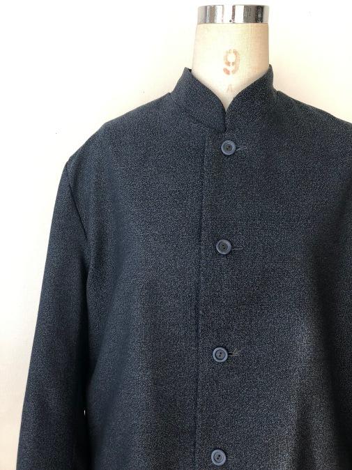 着物リメイク・ウールの着物から紳士コート_d0127925_10010293.jpg