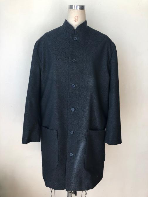 着物リメイク・ウールの着物から紳士コート_d0127925_10010696.jpg
