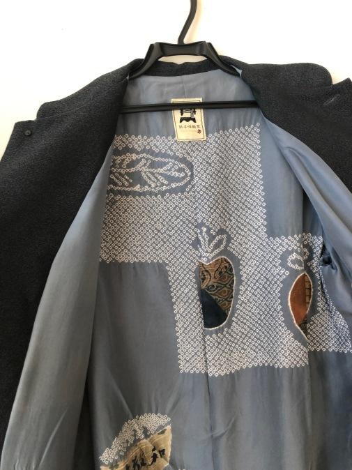 着物リメイク・ウールの着物から紳士コート_d0127925_10011057.jpg