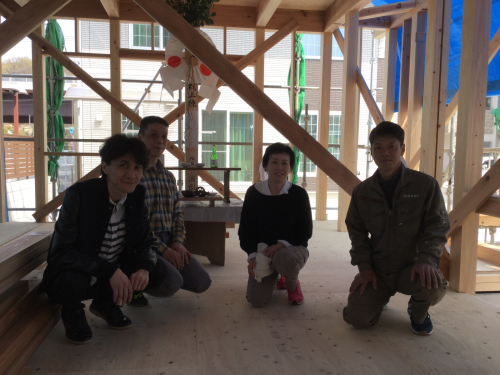 桜井の家 上棟_c0124828_04483923.jpg