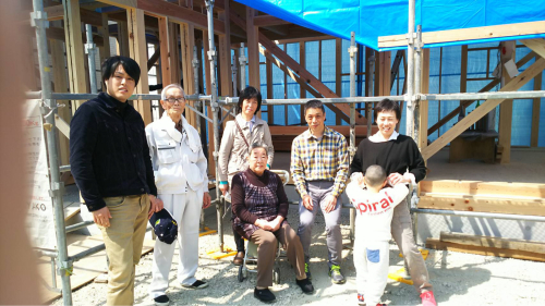 桜井の家 上棟_c0124828_04485312.jpg